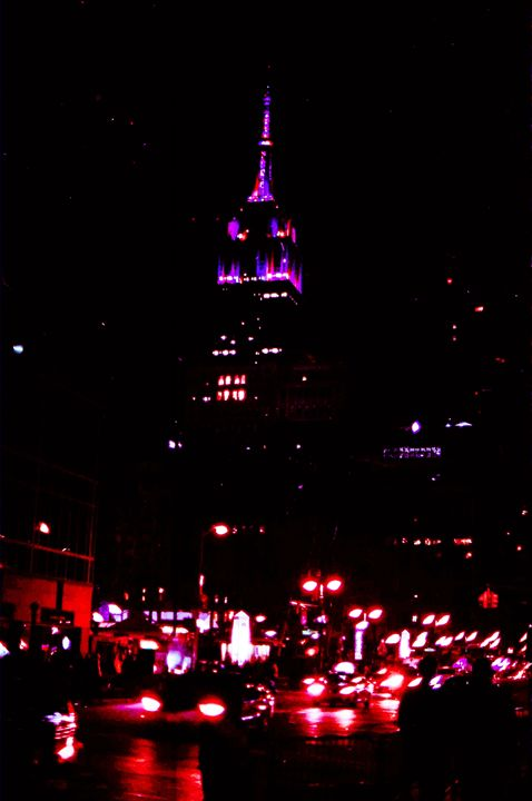 Empire State Building on New Years - Jay Kim Photography