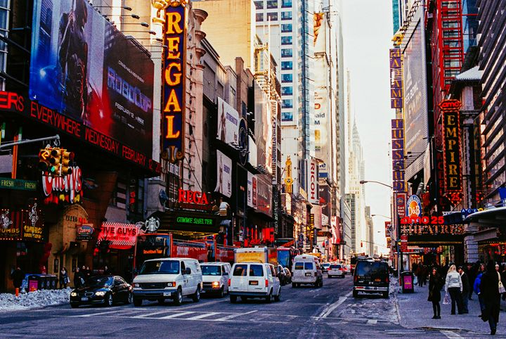 Times Square During the Day - Jay Kim Photography