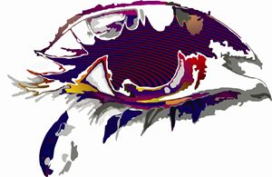 Abstract Art - Teardrop