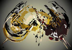 Abstract Art- Toast