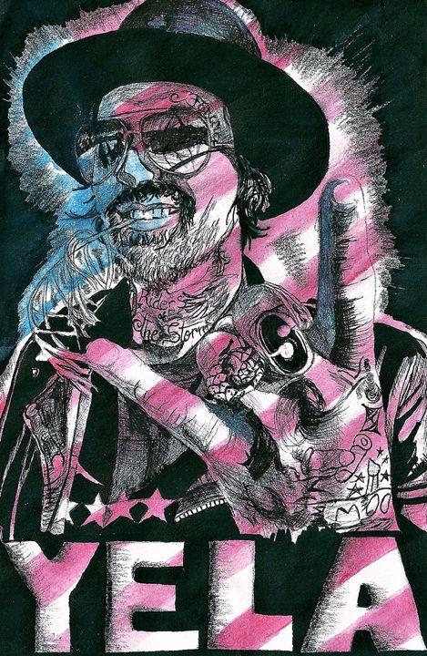 Yelawolf Slumerican - DARIEN RACHELLE ART