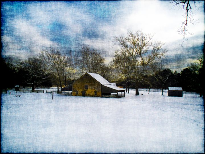 Barn At Batsto - Groovyal