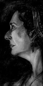 Pensive - Maja Sipilovic Art