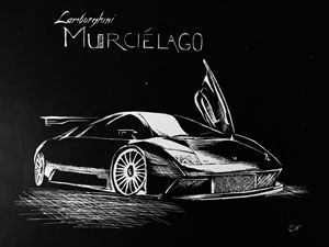 Lamborghini murcielago - Caren G