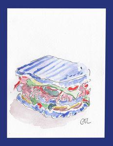 Blue Sandwich - GTL atelier
