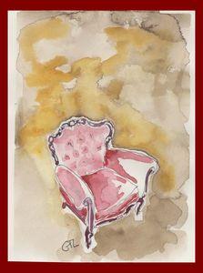Pink armchair - GTL atelier