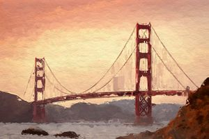 Golden Gate Inspiration.
