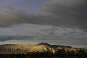 Mount Garfield, Mesa County