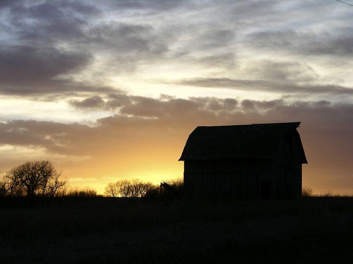 Barn at Sunset - Mesa Light Catcher