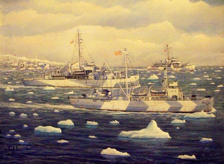 Greenland Patrol - RaVell Fine Art Studio