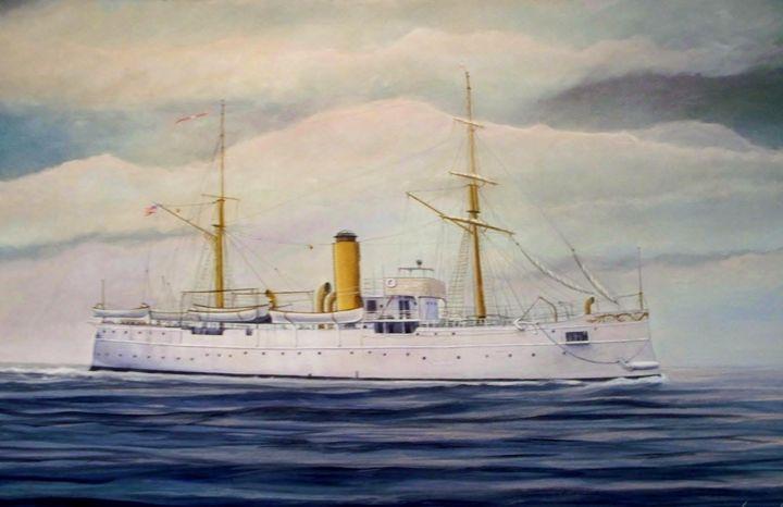U. S. Coast Guard Cutter Itascis - RaVell Fine Art Studio