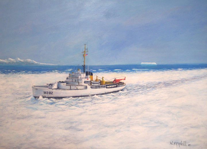 U. S. Coast Guard Cutter Northwind - RaVell Fine Art Studio