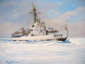 U S. Coast Guard Icebreaker Eastwind