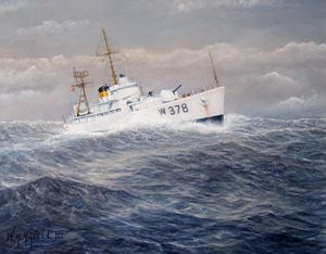 U. S. Coast Guard Cutter Hsalfmoon