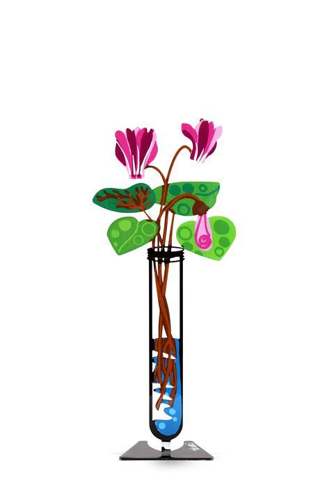 Cyclamen Flower Tube Pink Tzuki - Tzuki Design