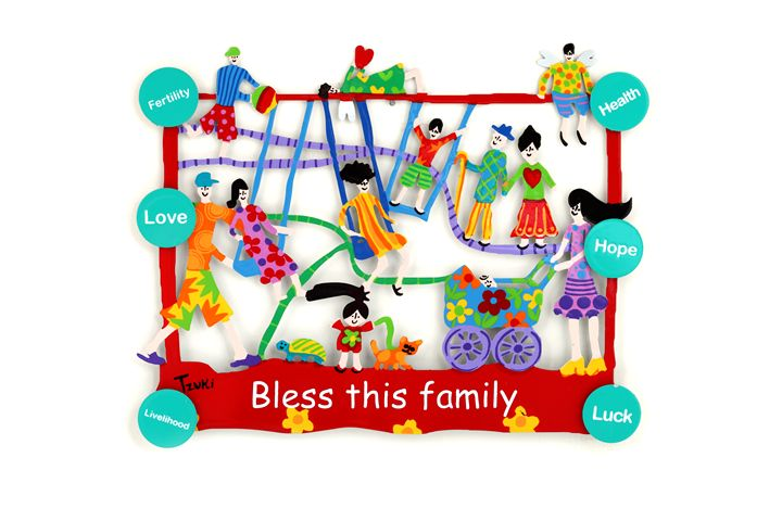 Small Family Home Blessing Tzuki - Tzuki Design