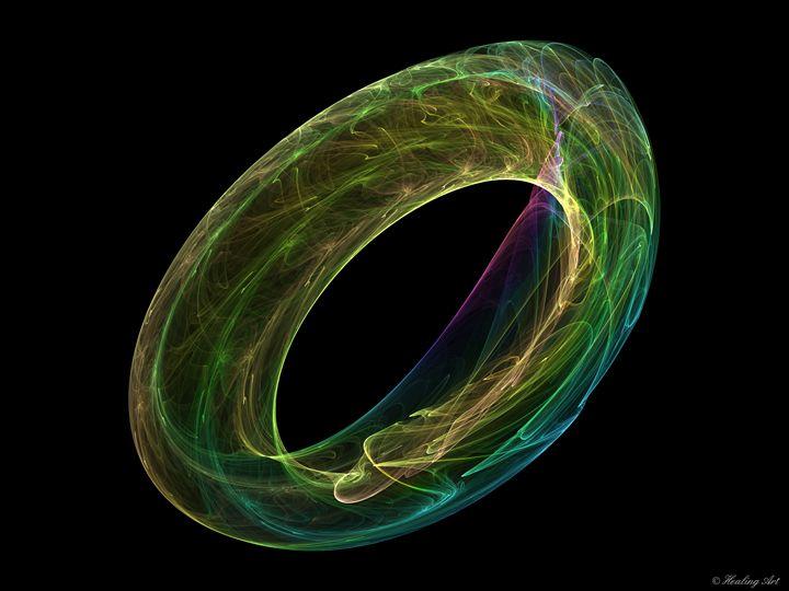 Glass Ring - Healing Art