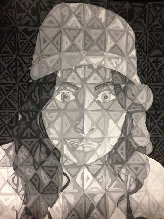 Self Portrait - Marinez Ruiz