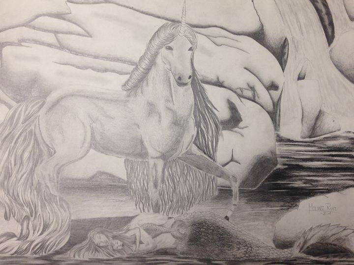 Unicorn and Mermaids - Marinez Ruiz