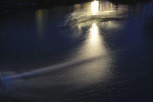 Night Blue Water