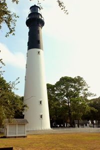 Hunting Island Lighthouse in color