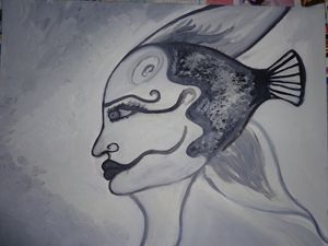 Fish Woman- Femme poisson