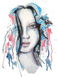 Watercolour Blue