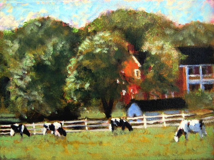 The OLd Folks At Home - David Zimmerman Fine Art