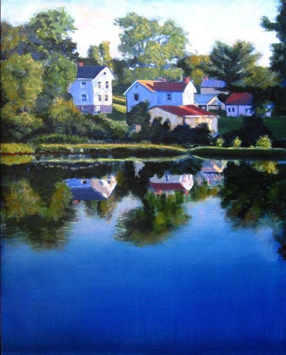 Another Pleasant Valley Sunday - David Zimmerman Fine Art