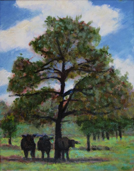 Three to Get Ready - David Zimmerman Fine Art