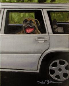 Where's My Daddy? - David Zimmerman Fine Art