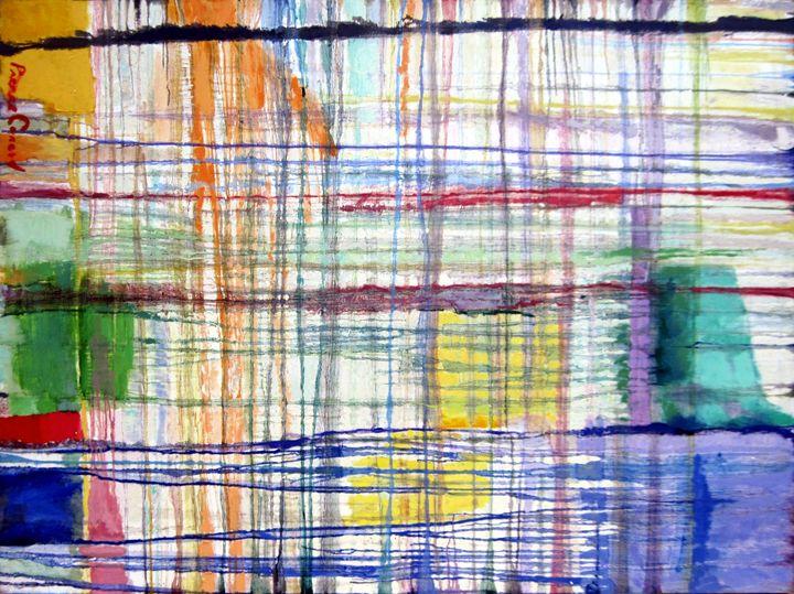 Plaid in Blue - David Zimmerman Fine Art