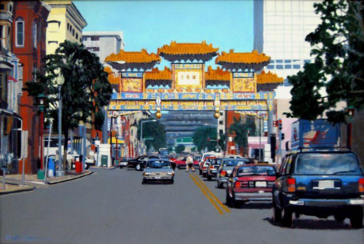 Chinagate - David Zimmerman Fine Art