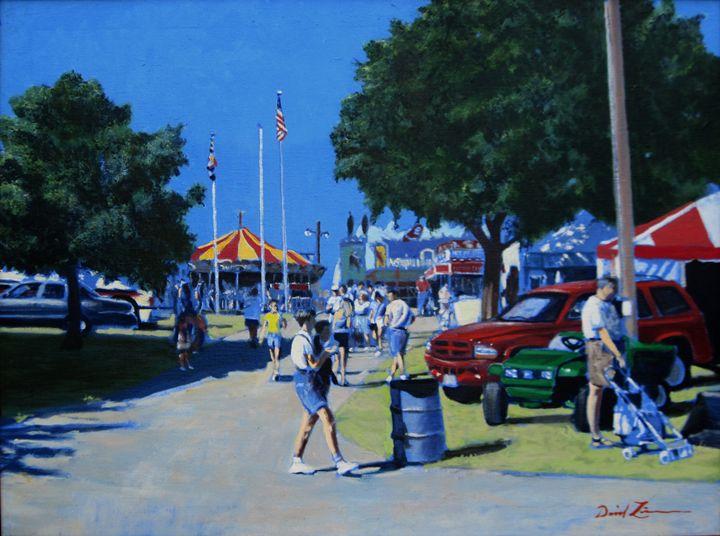 Been Too Long At The Fair - David Zimmerman Fine Art