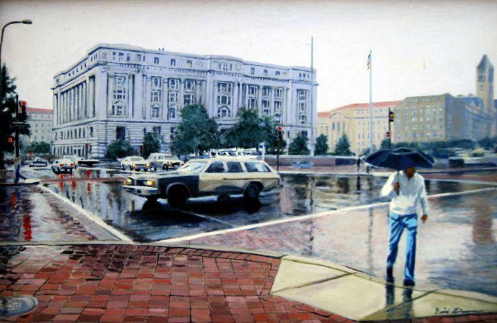 Washington Rain - David Zimmerman Fine Art