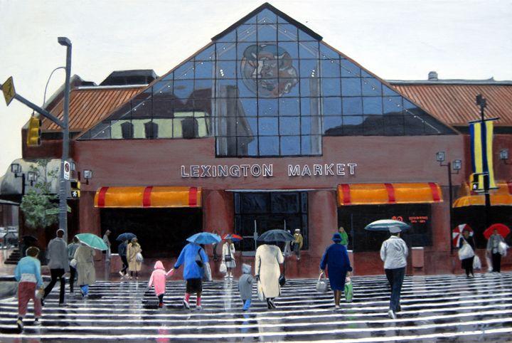 Lexington Market - David Zimmerman Fine Art