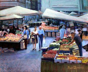 Bon Marche - David Zimmerman Fine Art