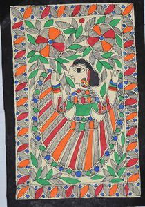 Art049-Woman-dancing-in-the-garden