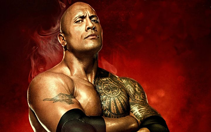 The Rock Dwayne Johnson - David Dehner
