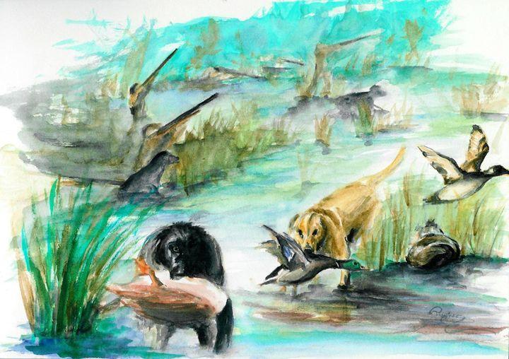 """the ugly duckling"" - illustration - rogerioarte"