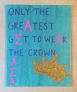 Alpha Sigma Alpha- Crown
