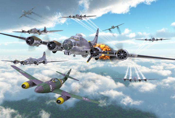 Me262 vs. 8th Air Force - Mario Merino