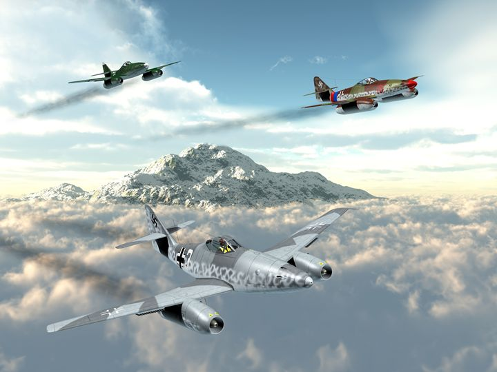 Me262 Jets - Mario Merino
