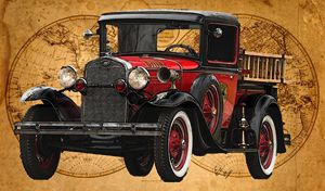 1931 Ford Model A Fire Truck