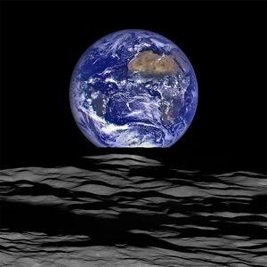 NASA Earth rise Photo