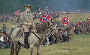 Gen Robert E Lee and traveller