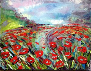 Poppy Field Impression
