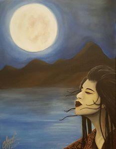 """""""Midnight Moon In Japan"""""""