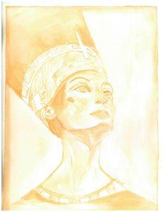 The aura of Nefertiti
