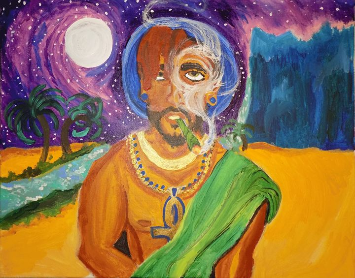 Cosmic Guide by: Famous Phoenix - Brown Tree Art House